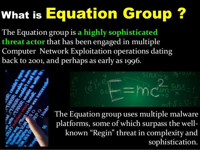 Equation Group : Advanced Secretive Computer Espionage Group Slide 3