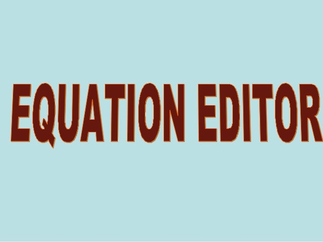 Equation Numbering • The equation numbering commands allow you to insert equation numbers in a Word document in a variety ...