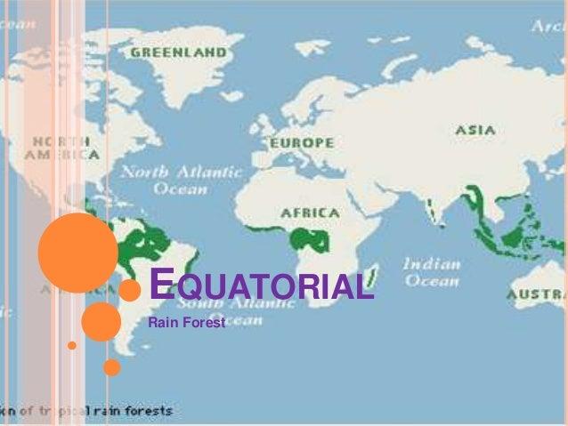 Equatorial regions