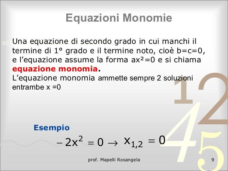 Equazioni di 2 grado - Tavola di tracciamento secondo grado ...