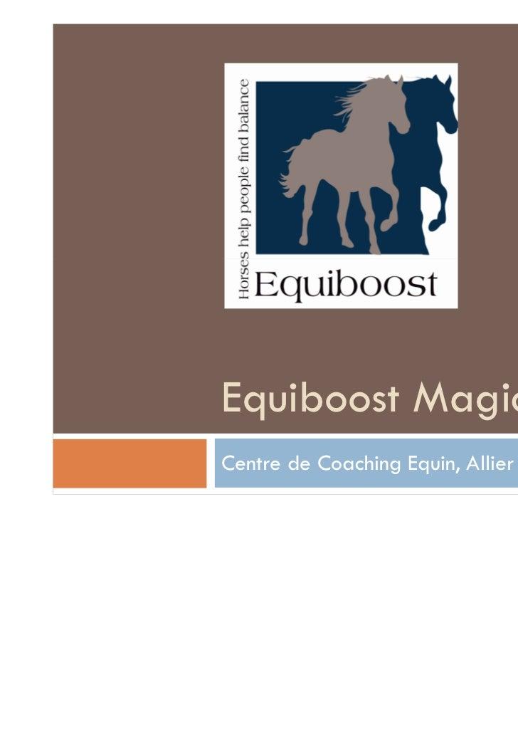Equiboost Magic ClassCentre de Coaching Equin, Allier (France)