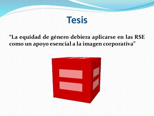 Equidad de género, rse e imagen corporativa Slide 2