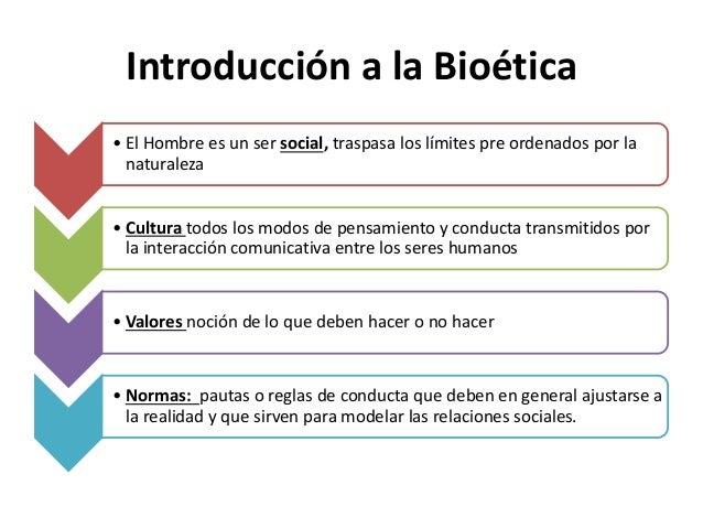 Introducción a la Bioética • Los orígenes fundamentales de los sistemas normativos en las sociedades han sido la filosofía...