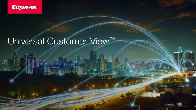 Universal Customer View™