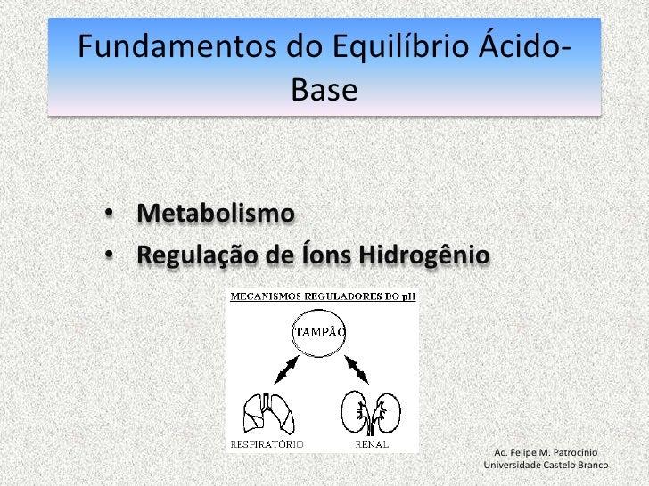 Introdução a Gasometria Arterial Slide 3
