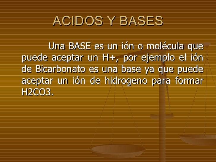 Equilibrio àcido base  Slide 3