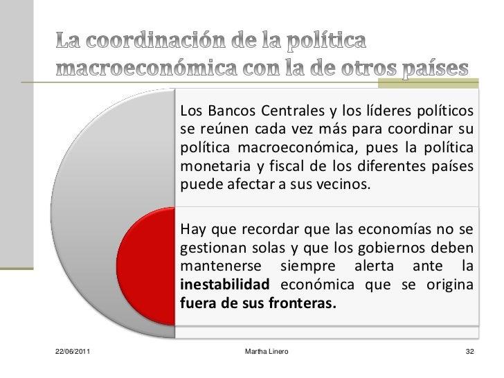 Los Bancos Centrales y los líderes políticos             se reúnen cada vez más para coordinar su             política mac...