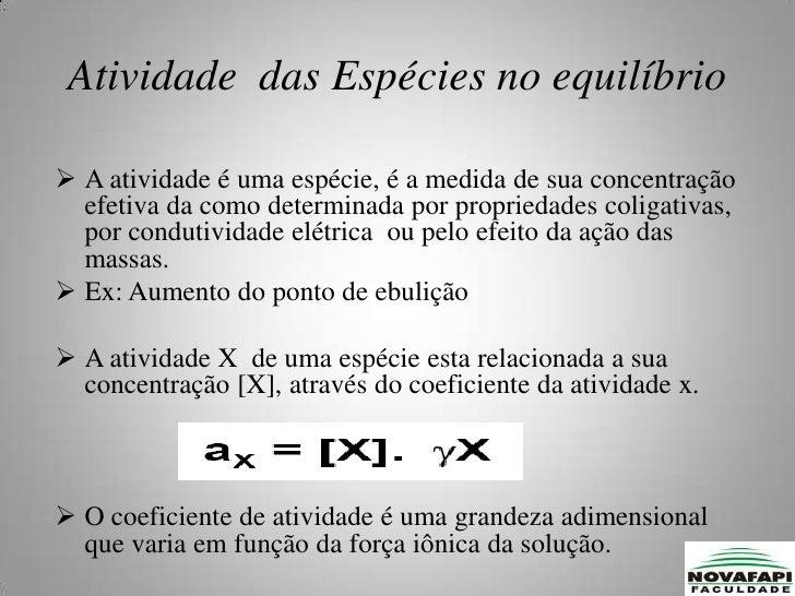 Equação de Arrhenius<br /><ul><li>K₁ e K₂ são as constantes  de velocidade  das reações direta e inversa respectivamente.