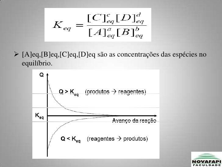Processo dinâmico  ocorre continuamente isto é  as velocidades no sentido direto e inverso são iguais.</li></ul>Termodinâm...