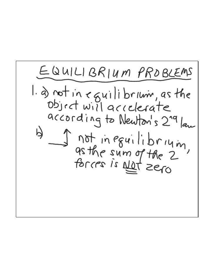 Equilibriumworksheets