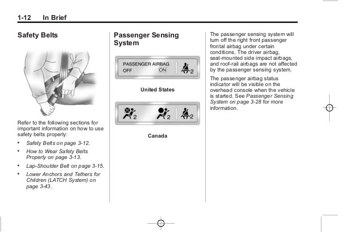 2012 chevy equinox owners manual