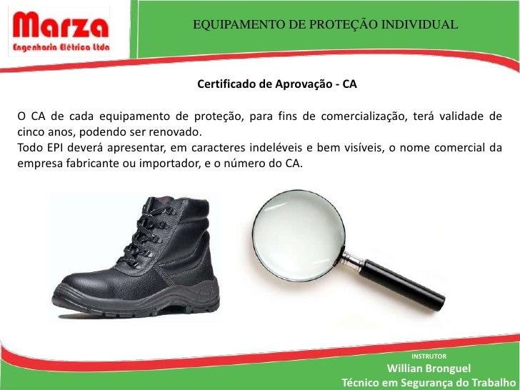 e3736c588a5c1 ... Trabalho  11. EQUIPAMENTO DE PROTEÇÃO INDIVIDUAL Certificado de  Aprovação ...
