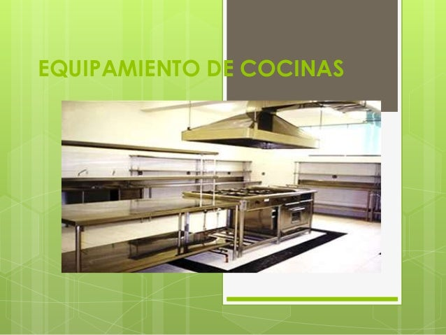 Equipamiento De Cocinas