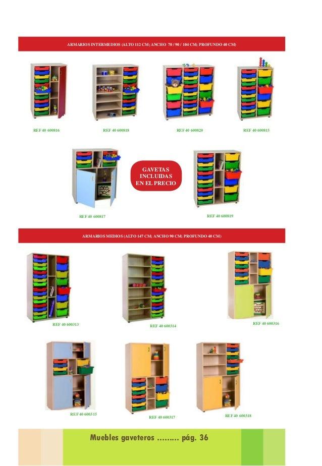 Catalogo de Propuestas Equipamiento para guarderias 2014-2015