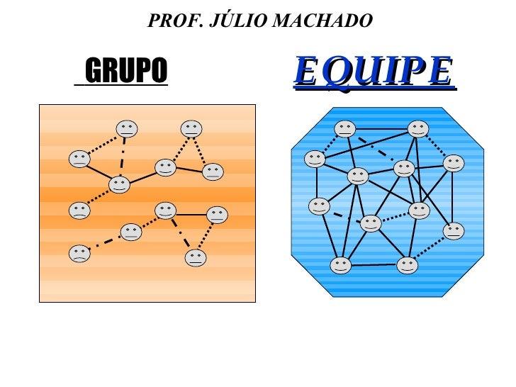 GRUPO   EQUIPE PROF. JÚLIO MACHADO