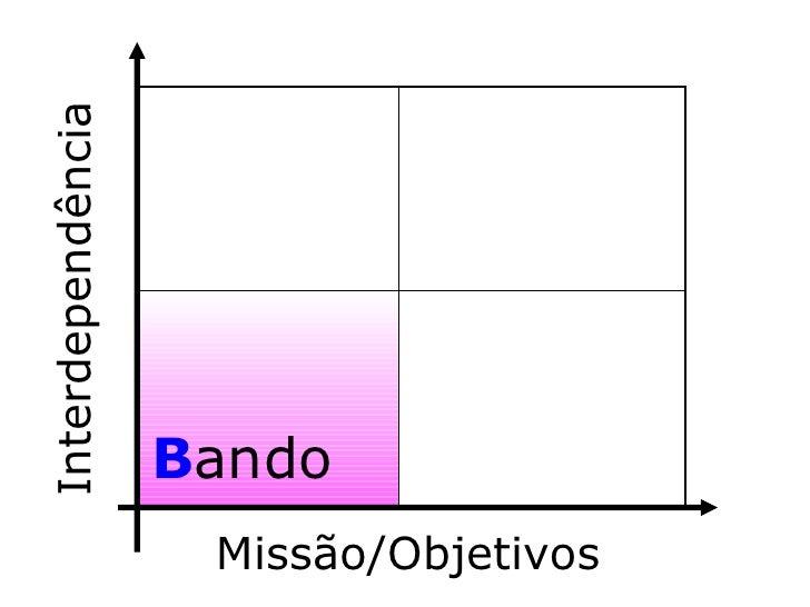 B ando Interdependência Missão/Objetivos