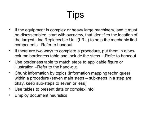 equipment manual writing may 2014 final rh slideshare net APA Writing Manual Writing an Instruction Manual