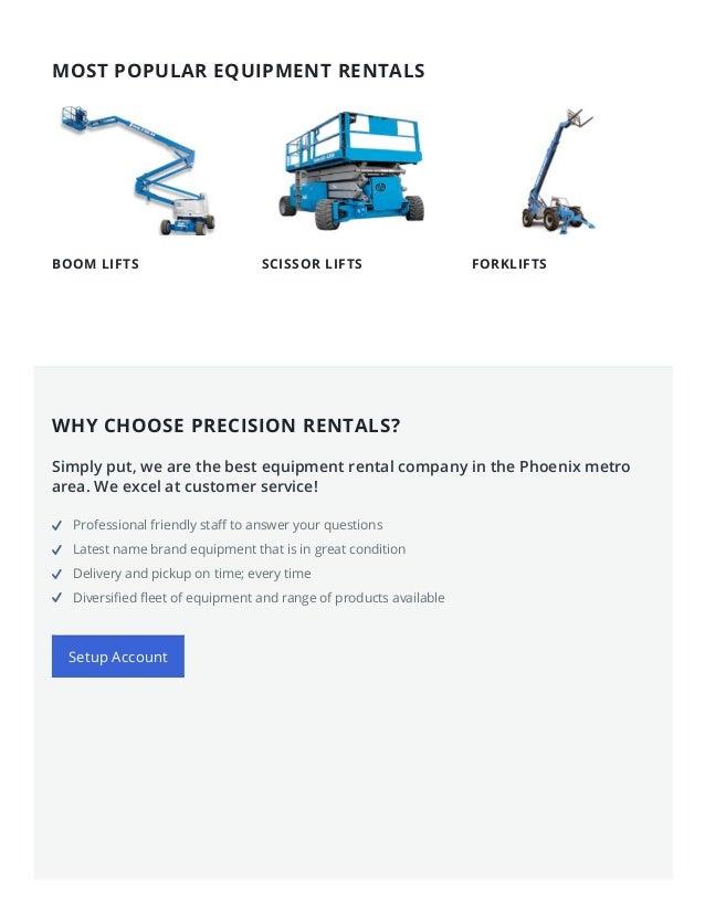 7/1/2015 EquipmentRentalPhoenix–RentalEquipmentCompanyAZ http://equipmentrentalphoenix.com/ 2/8 BOOM LIFTS SCISSOR ...