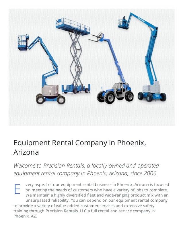 7/1/2015 EquipmentRentalPhoenix–RentalEquipmentCompanyAZ http://equipmentrentalphoenix.com/ 3/8 Equipment Rental Co...