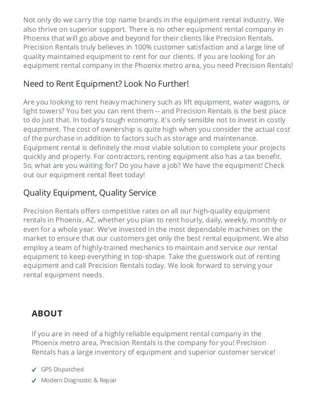 7/1/2015 EquipmentRentalPhoenix–RentalEquipmentCompanyAZ http://equipmentrentalphoenix.com/ 4/8 Need to Rent Equipm...
