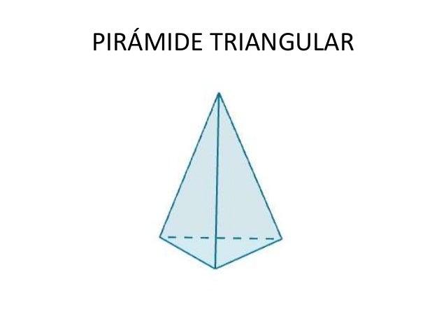 Pirámide Base Triángulo Y Cuadrado