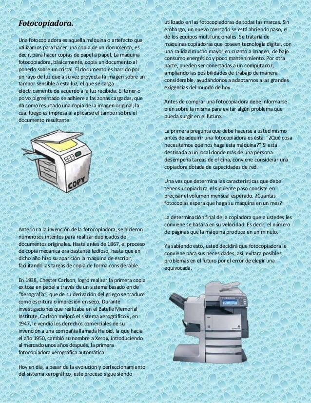 Consumo energetico de una fotocopiadora 33