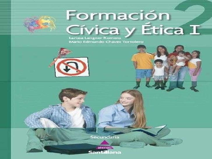 """Formación cívica y ética II II GRADO SECCIOON """"B"""""""