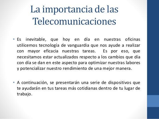 Equipo de telecomunicaciones para tu oficina for Importancia de la oficina wikipedia