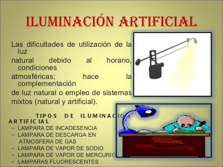 Peligro iluminacion - Tipos de iluminacion ...
