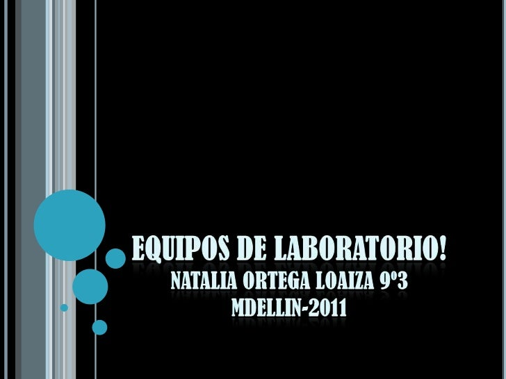 Equipos de laboratorio for Equipos de laboratorio