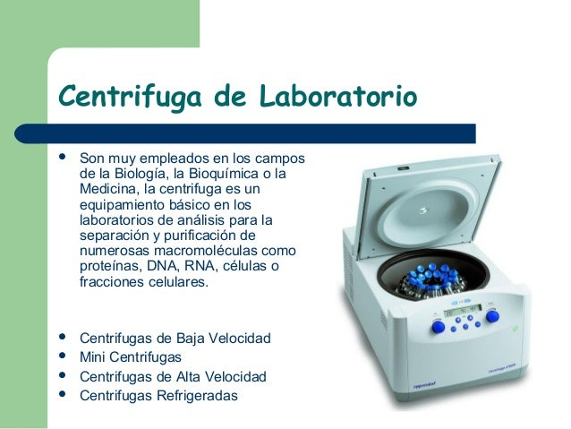Equipos especiales de laboratorio for Equipos de laboratorio