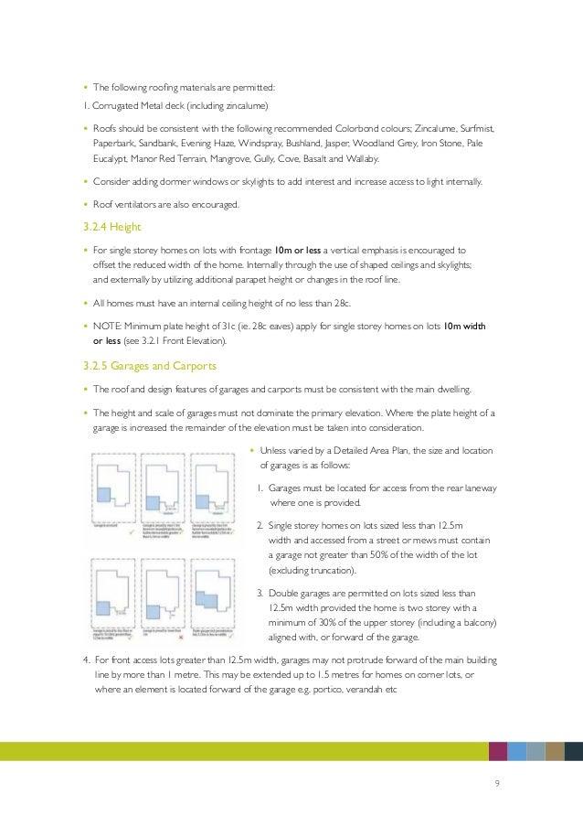 Equis Lake Design Guidelines Brochure