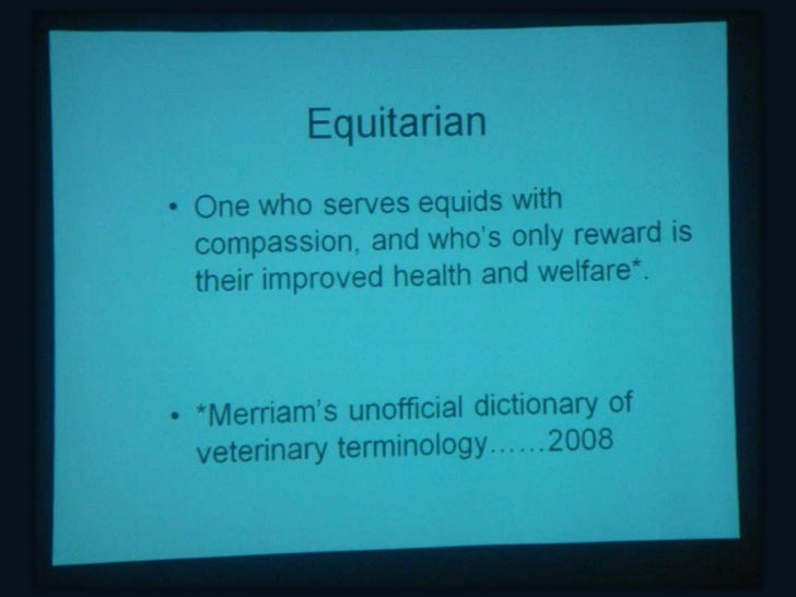 The 1st Equitarian Workshop was organized by AAEP, AAEP Foundationand the Faculty of Veterinary Medicine of the National A...