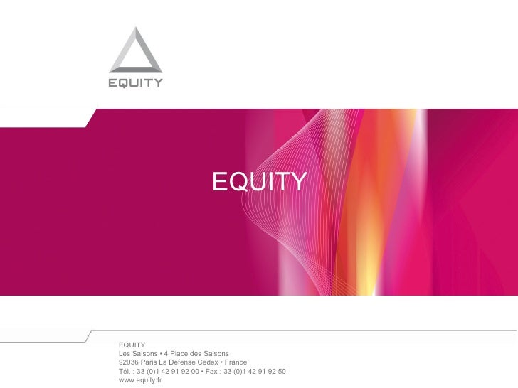 EQUITY<br />