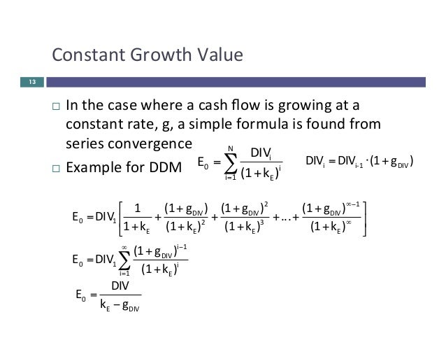 valuation of equity Chapter 2 approaches to valuation 2 (2.
