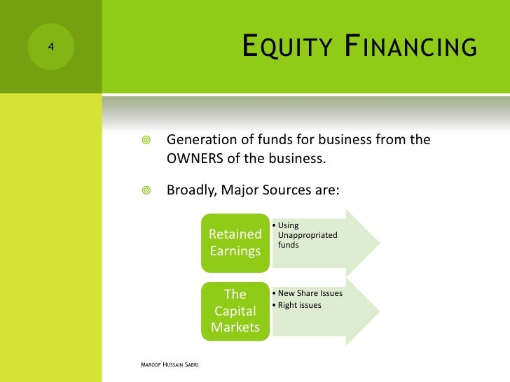 concept of debt funding and equity Business funding debt versus equity business funding debt versus equity businessfinance staff may 30, 2013 no comments chances are, if you have a strong business plan, good concept, and any equity value at all in the form of inventory.