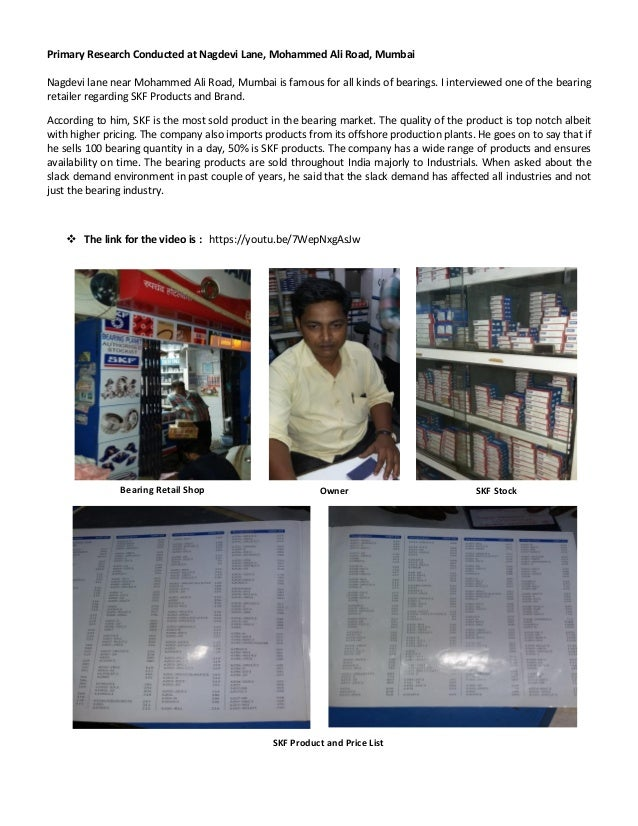 Skf Bearing Price List In India Pdf