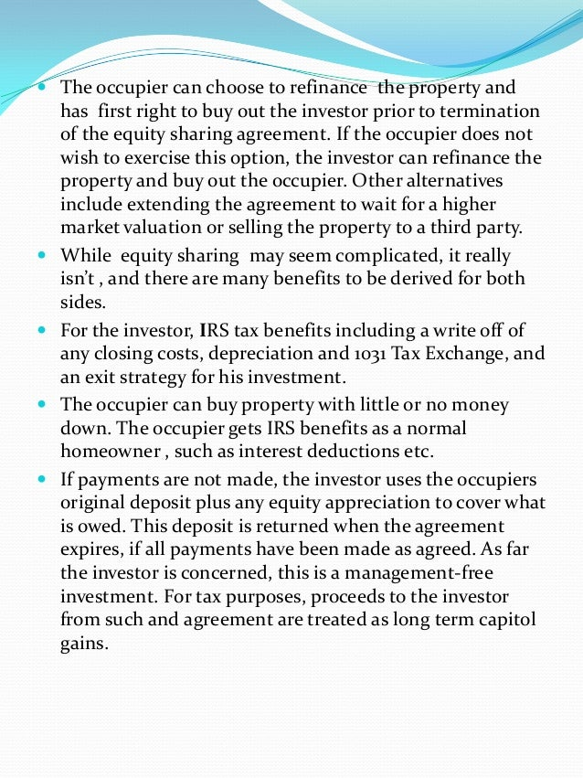 Equity Share Advantages