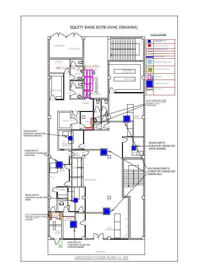 Equity sotik (hvac) mechanical services drawings | Hvac Mechanical Drawing |  | SlideShare