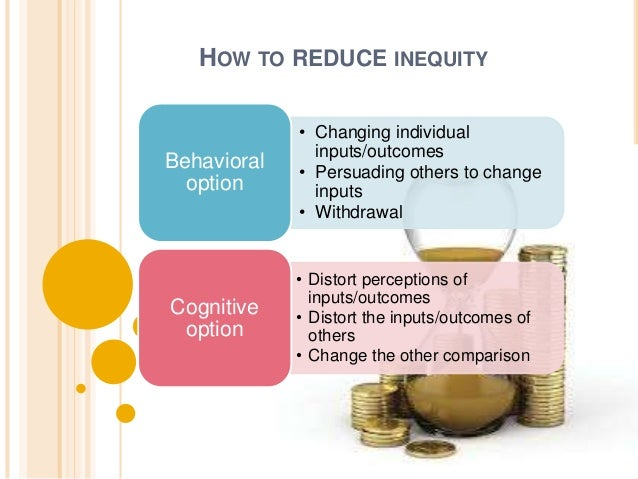 EQUITY  SENSITIVITY  Determines the extent to which an  individual will tolerate inequality.