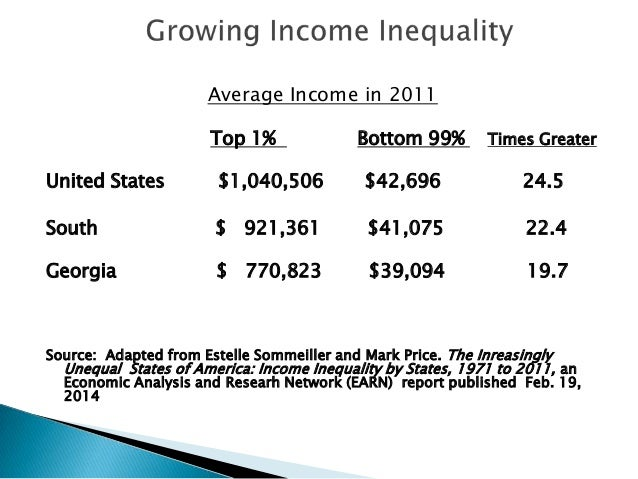 an analysis of the unequal income distribution in united states of america Nine charts about wealth inequality in america  families near the bottom of the wealth distribution  low-income families benefit from safety net programs,.