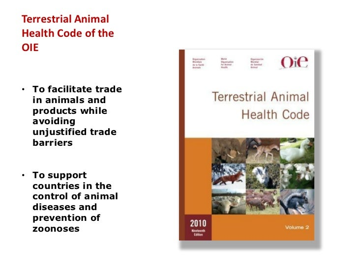 the oie judgement of equivalence rh slideshare net oie terrestrial manual 2017 oie terrestrial manual 2017