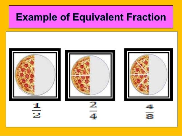 Equivalent fraction