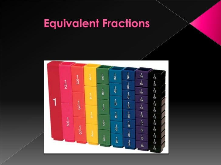 Equivalent Fractions<br />