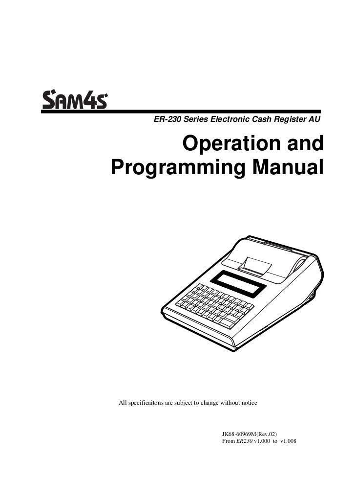 Er 230 au user manual