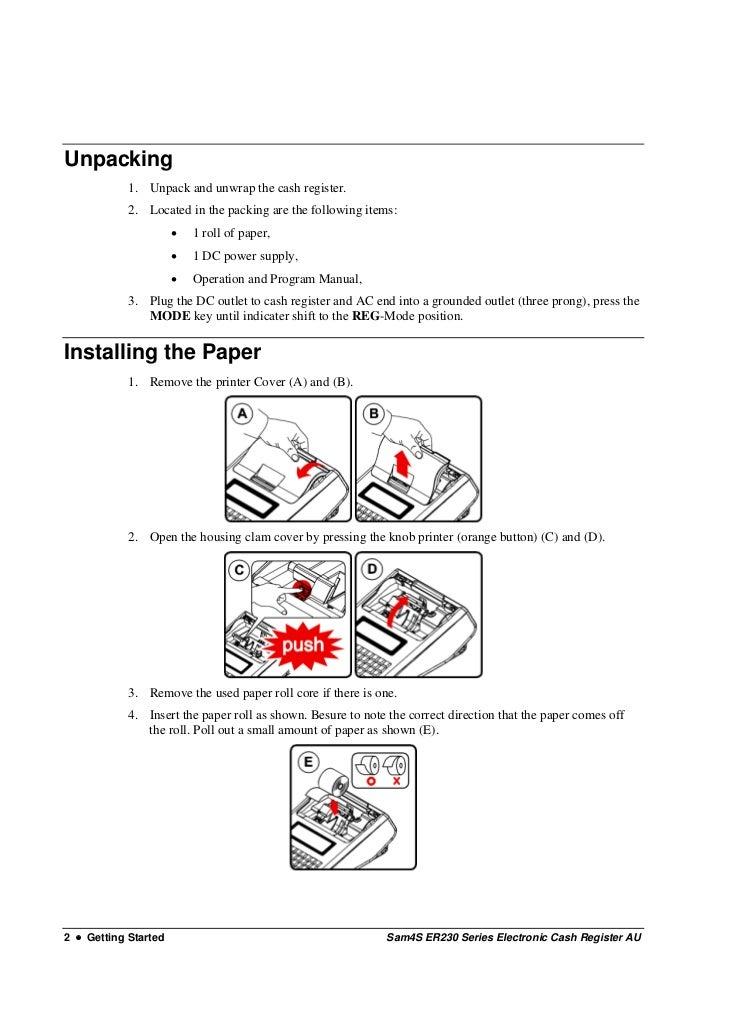 Er 230 au user manual cash register au 12 asfbconference2016 Images