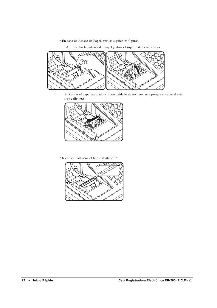 Manual de Programación SAM4S Er-260