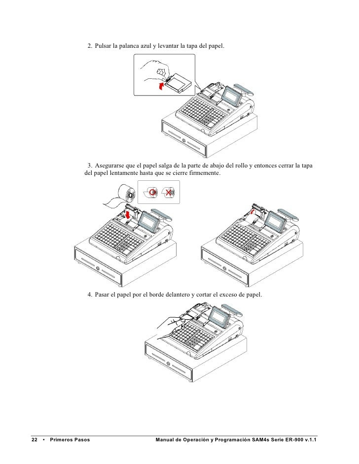 Manual de Programación SAM4S ER-940