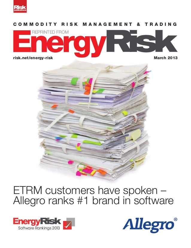 c o mm o d i t y           risk   management   &   tr ading         REPRINTED FROMrisk.net/energy-risk                    ...