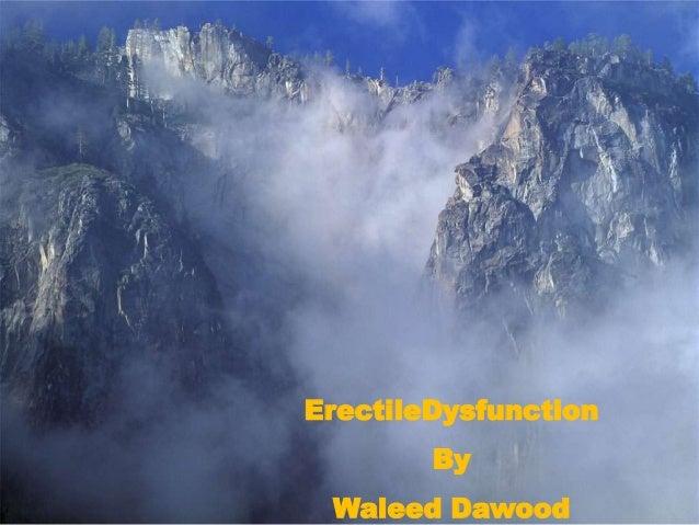 ErectileDysfunction By Waleed Dawood